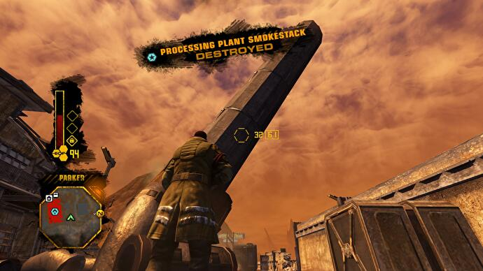 Red Faction: Guerrilla was an open-world game with purpose