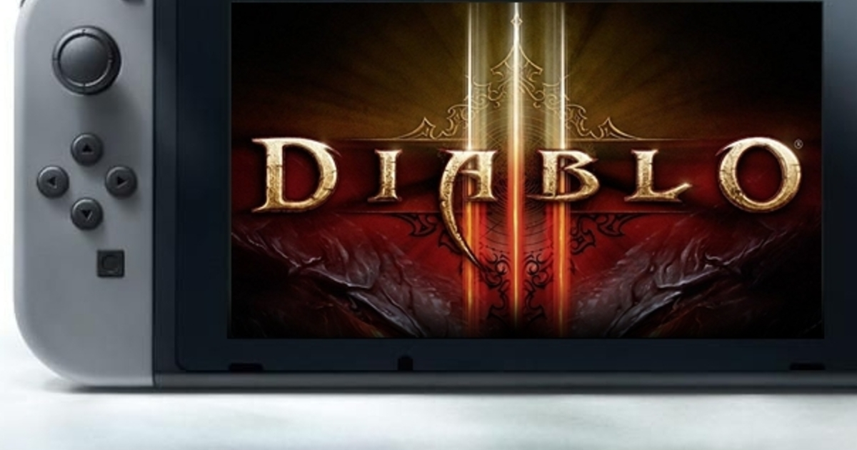 Eurogamer: Yes, Diablo 3 is coming to Nintendo Switch