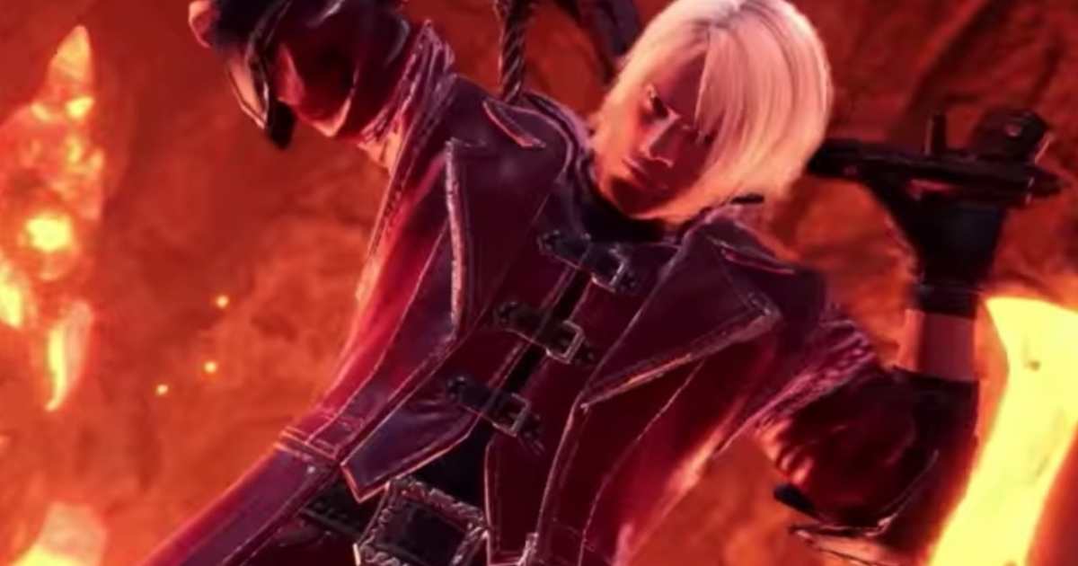 Dante is heading to Monster Hunter World in a Devil May ...