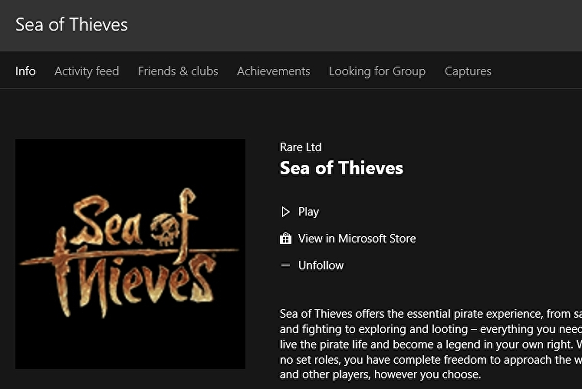 Sea Of Thieves Installation Unlock Times How To Download Sea Of Thieves On Pc And Xbox One Eurogamer Net
