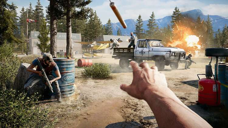 Far Cry 5 Perks Challenges List Our Picks For Best Perks And Lieutenants In Far Cry 5 Explained Eurogamer Net