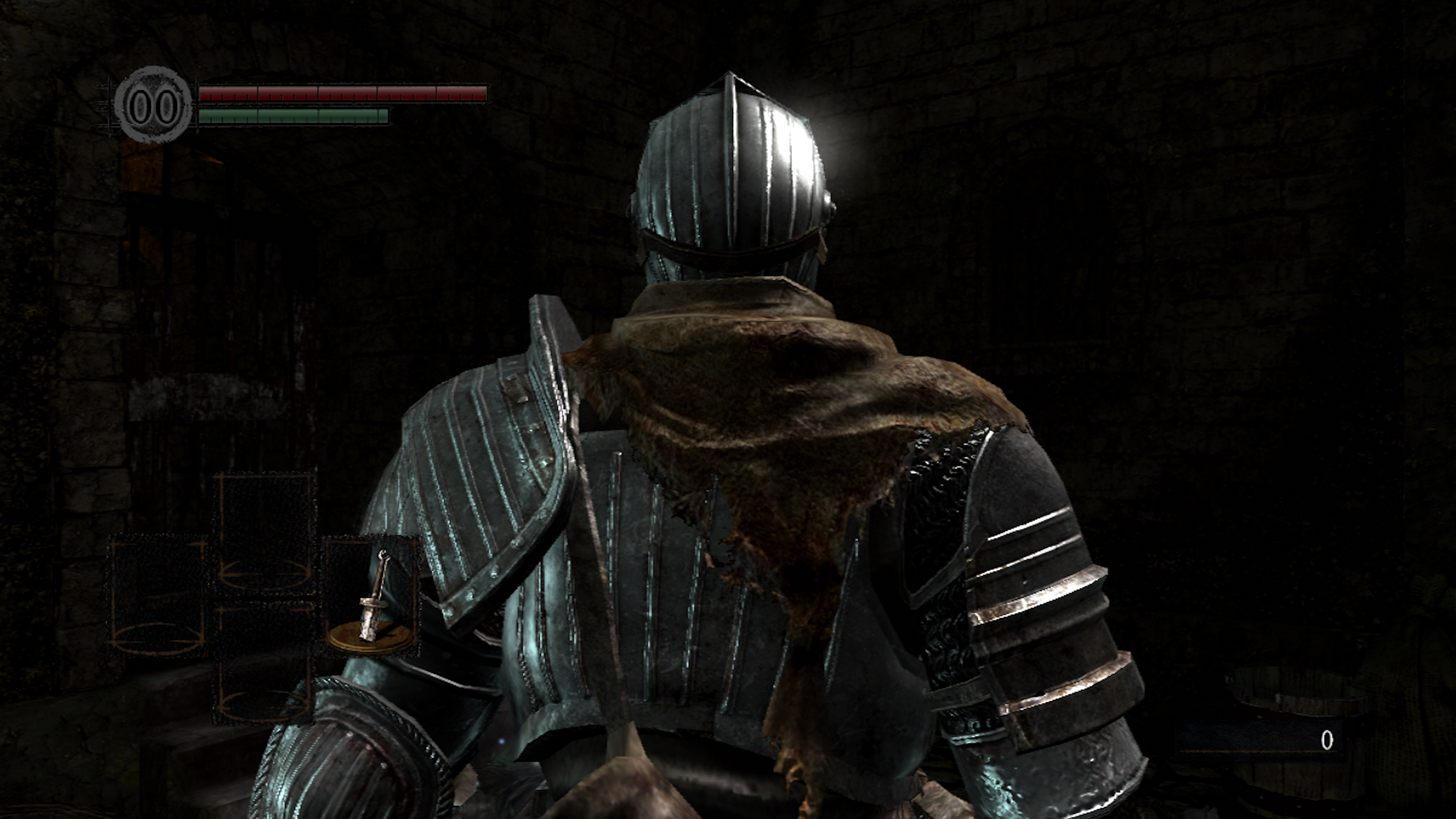 Dark Souls Remastered How Much Of An Upgrade Is It Lock Ampamp Ordinary Crisper Hpl932d700ml Lighting Across This Knights Armour Altered With A Cleaner Result On The Material Looks Sharper And More Pristine But Some Originals