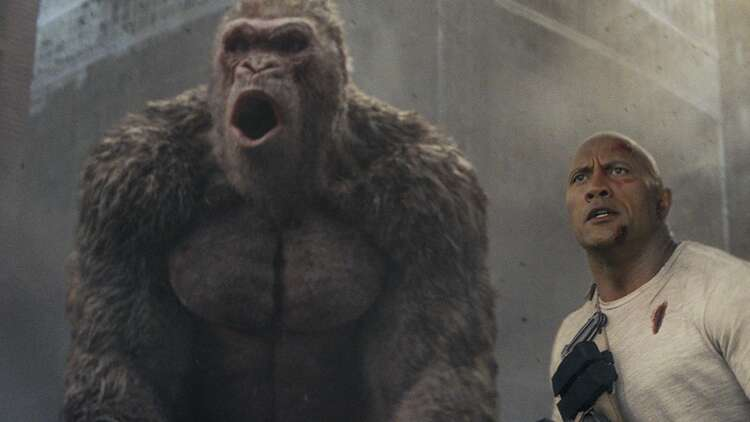 Rampage Film Review Even Shallower Than The Arcade Game
