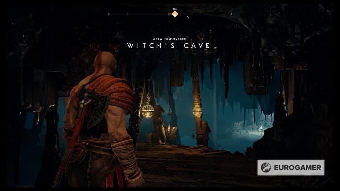 God of War - Witch's Cave puzzle solutions explained, Lake