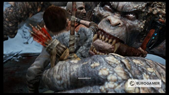 God of War - Defeat the Ogre, Mountain's Base and the Hel's