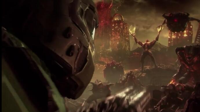 Oh hell, Bethesda just announced DoomEternal
