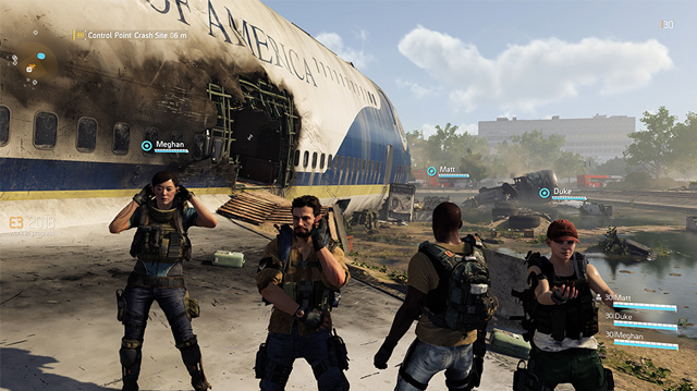 8 New Things We Did While Taking Air Force One in The Division 2 Gameplay