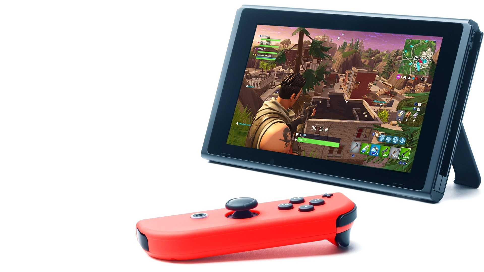 Fortnites Switch Port Is Impressive But Frame Rate Could Be 3 Way Problem Better