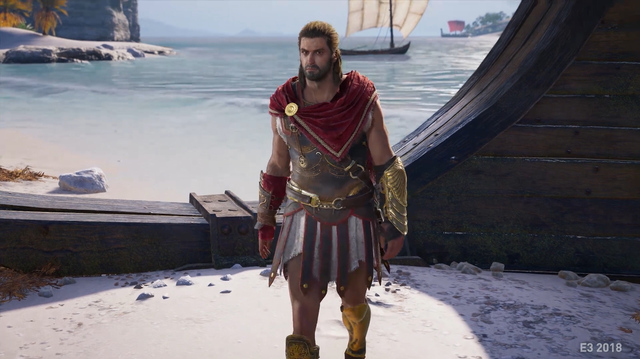 Assassin's Creed Odyssey Gameplay Has Lions, Bears and Spartan Kicks