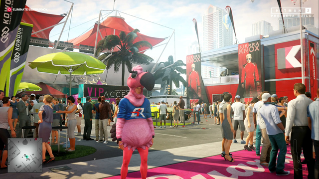 We Become Flamingo, Sabotage Race Car in Hitman 2 Miami Gameplay
