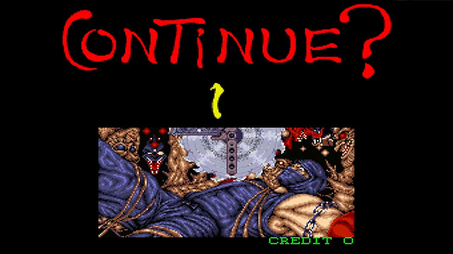 The 7 Harshest Continue Screens in Arcade Games