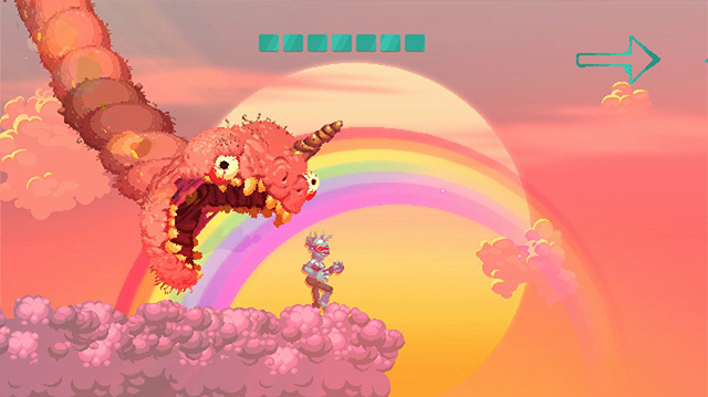 Getting Eaten by a Giant Worm is the Point of Nidhogg 2