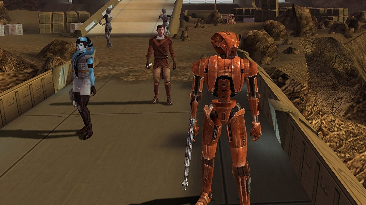Attention Meatbags Star Wars Knights Of The Old Republic Is 15 Years Old Eurogamer Net