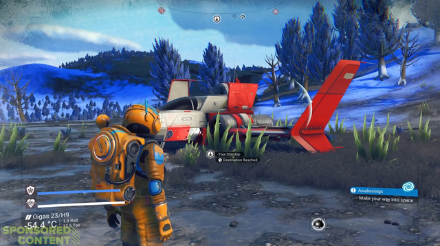 We Discover Multiplayer, Gross Creatures in No Man's Sky Next Gameplay (Sponsored Content)