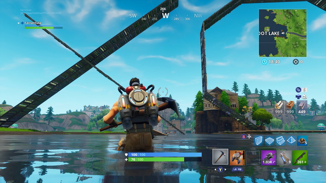 We Build a Mighty Monument in Fortnite Playground Mode
