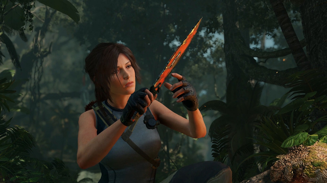 Lara Depopulates Jungle in Shadow of the Tomb Raider Gameplay