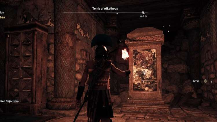 Assassin S Creed Odyssey Tomb Locations Ancient Steles Tomb Of
