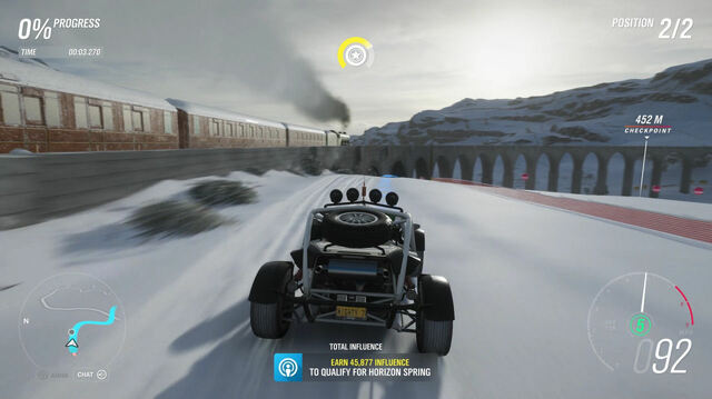 We Race The Hogwarts Express in Forza Horizon 4, Sort Of