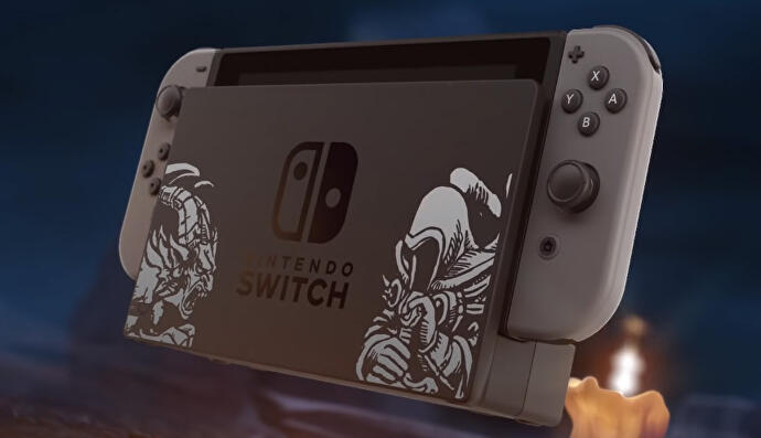 There's an official Diablo 3 Nintendo Switch design