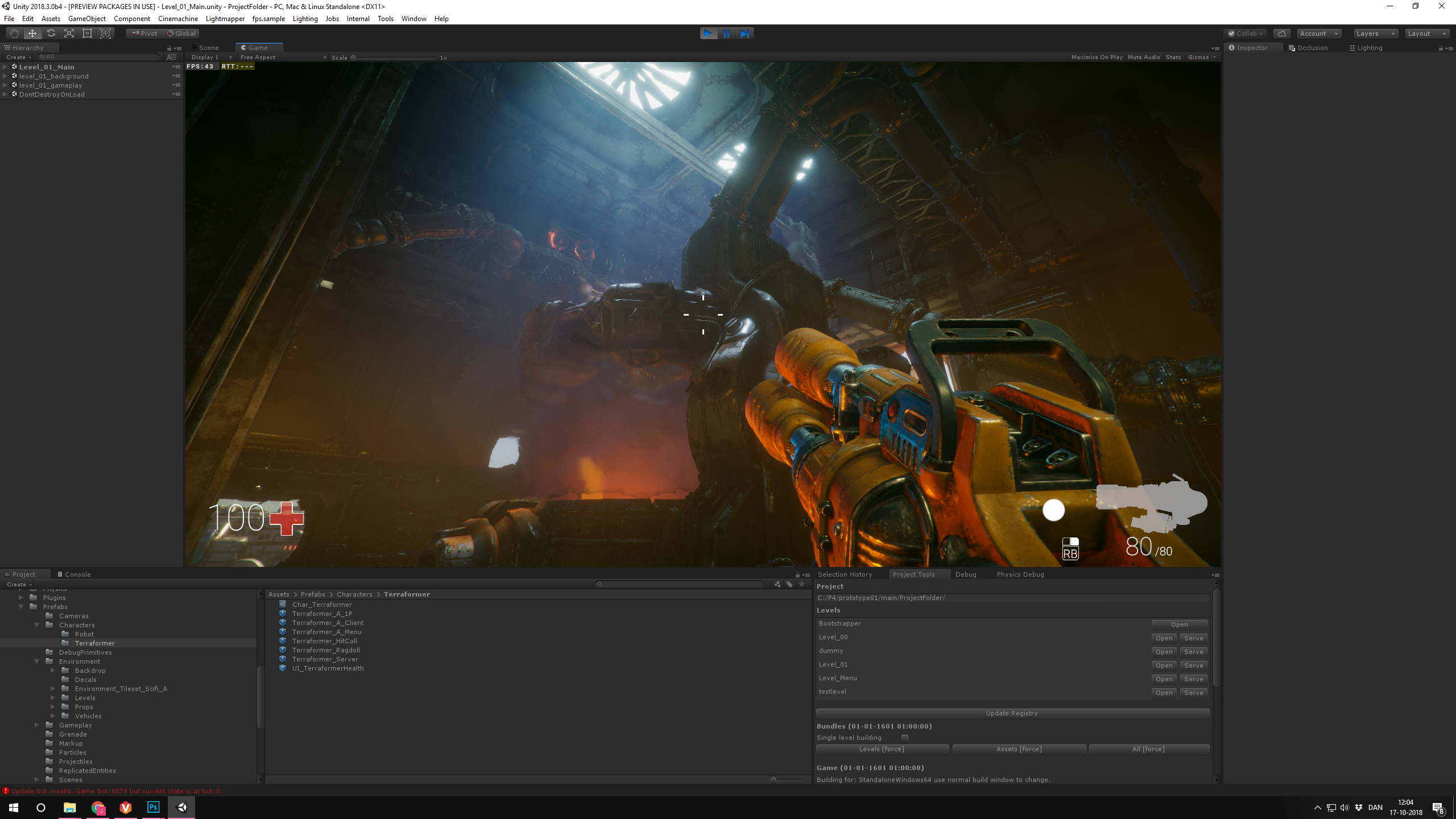 Unity dabbles in development with FPS Sample Game | GamesIndustry biz