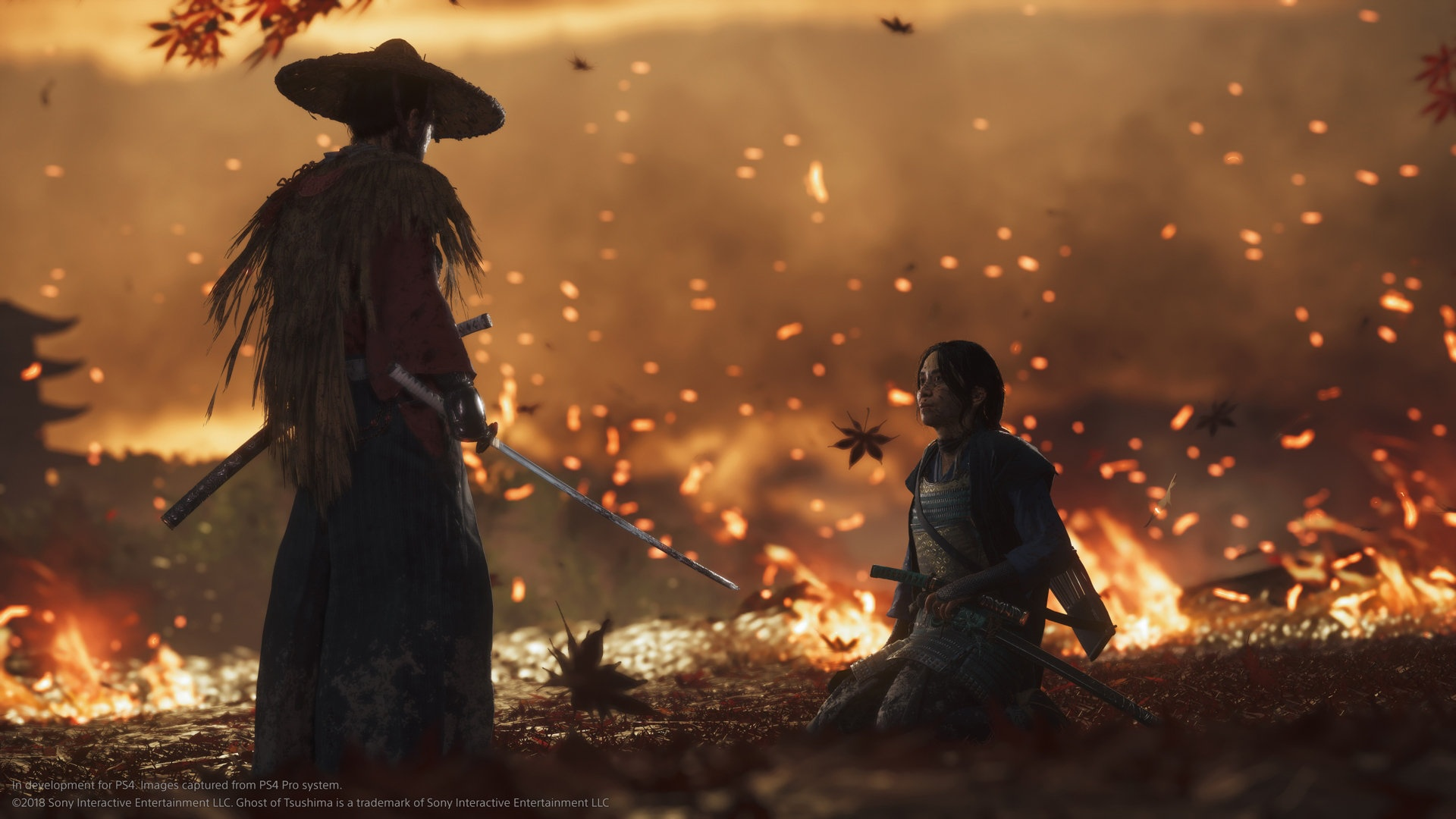 Bringing feudal Japan to life in Ghost of Tsushima