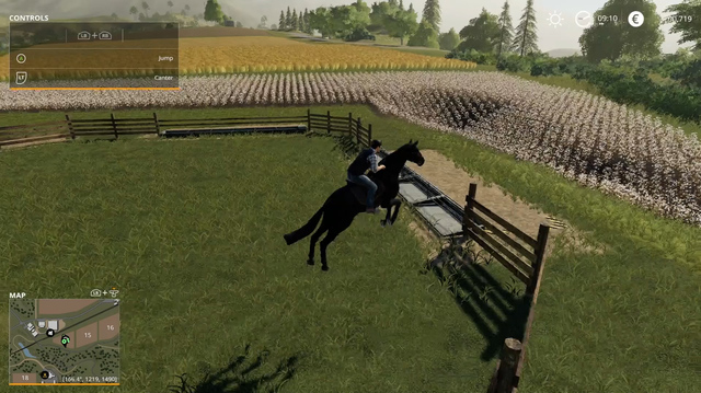 We Ride Horses, Chainsaw Trees in Farming Simulator 19 (Sponsored Content)