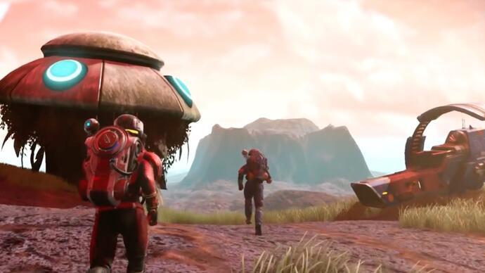 No Man's Sky's big new Visions update leaks with newtrailer