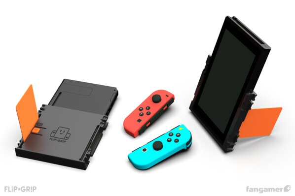 The Flip Grip unleashes one of the Switch's best features