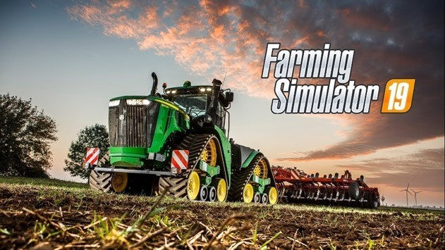 Farming Simulator 19 most-downloaded game on EMEAA charts this week