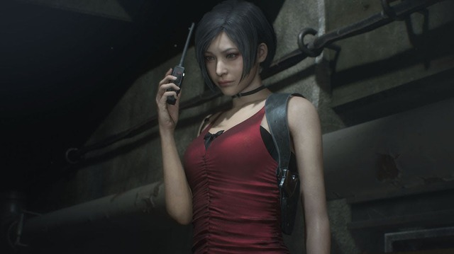 Leon and Ada Reunite in Resident Evil 2 Remake Gameplay