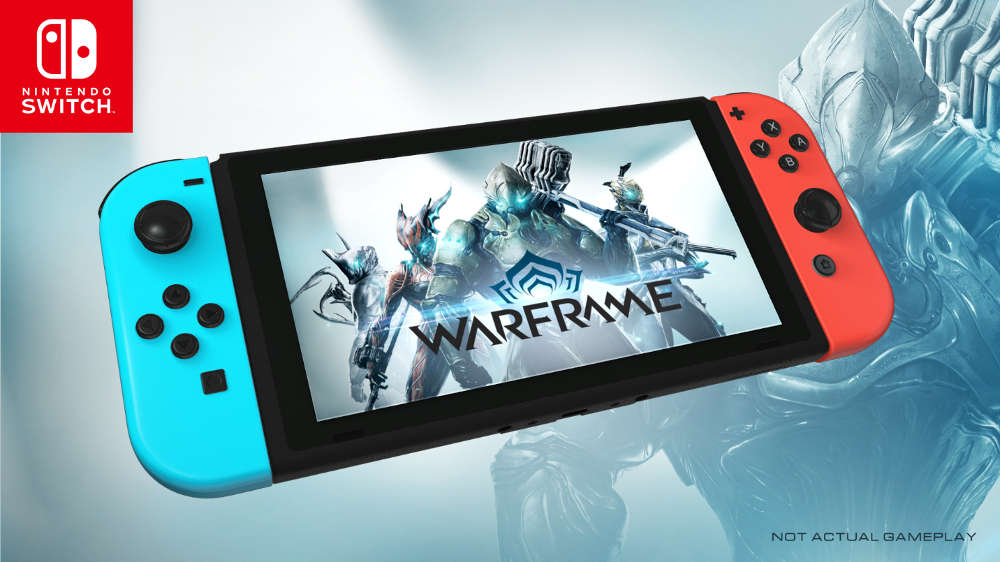 Warframe downloaded one million times on Nintendo Switch