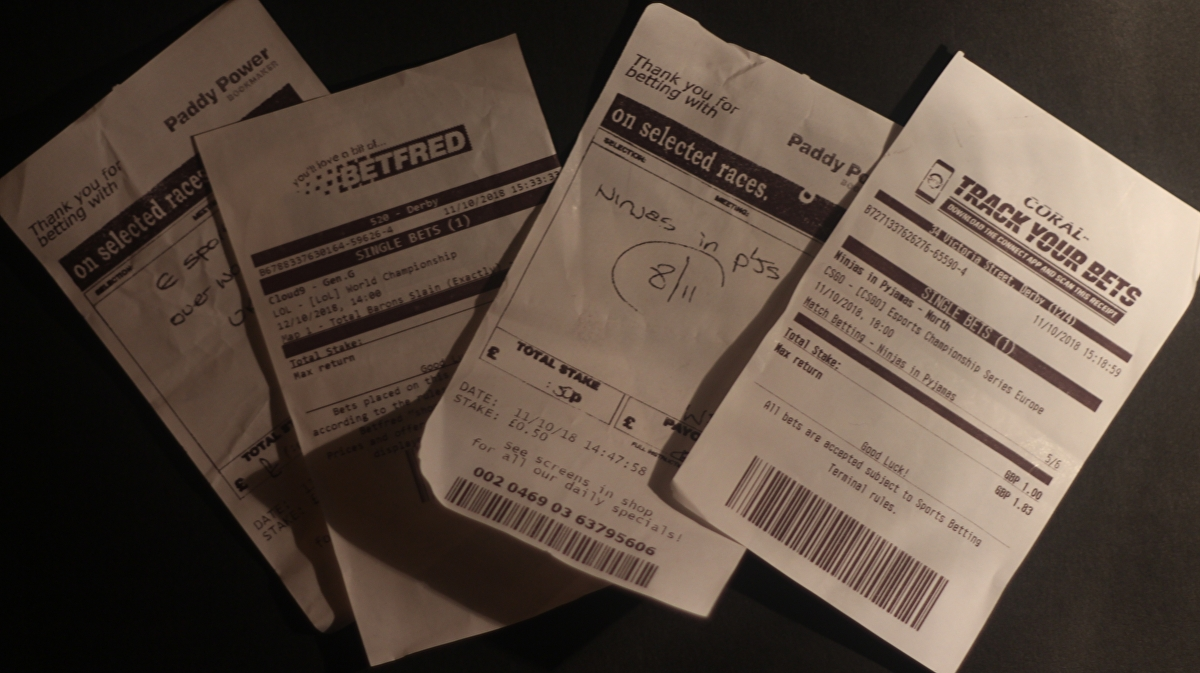 Here's what happened when we tried to bet on esports at our