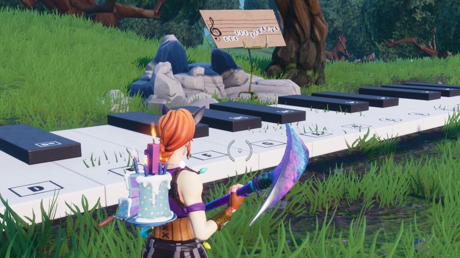 Fortnite Piano Locations Where To Find The Pleasant Park And