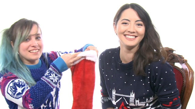 Jane Turns Santa to the Dark Side in the Oxbox Xmas Challenge