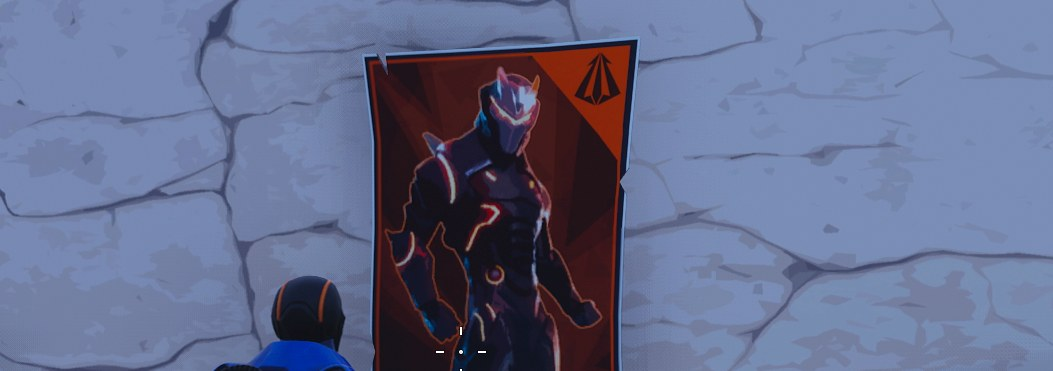 Fortnite Poster Locations - Spray über Carbide oder Omega Poster Woche 6 Herausforderung