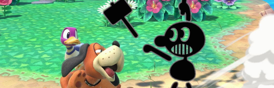 Smash Bros. Ultimate Dropping Rassistischer Indianer Game & Watch Image Nach Outcry