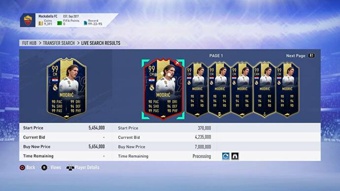 EA added the strongest card in Ultimate Team history to FIFA
