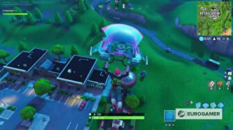 Fortnite Land On Top Of A Ranger Tower Fortnite Water Tower Ranger Tower And Air Traffic Control Tower Locations Eurogamer Net
