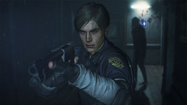 It's Leon's First Day in the Resident Evil 2 Remake