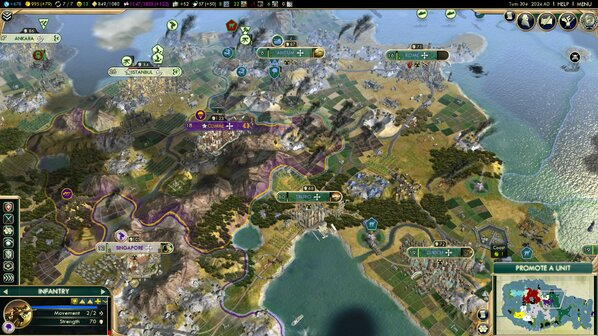 How a five-year game of Civilization 5 became a meaningful part of