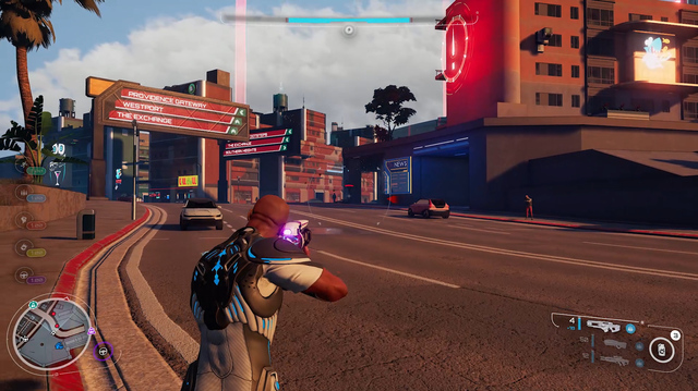 We Free Roam, Fight Boss in Crackdown 3 Single Player Gameplay