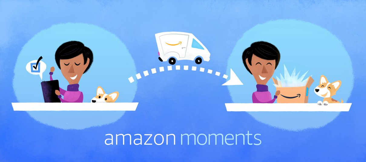 Amazon Moments lets mobile developers offer digital and physical incentives