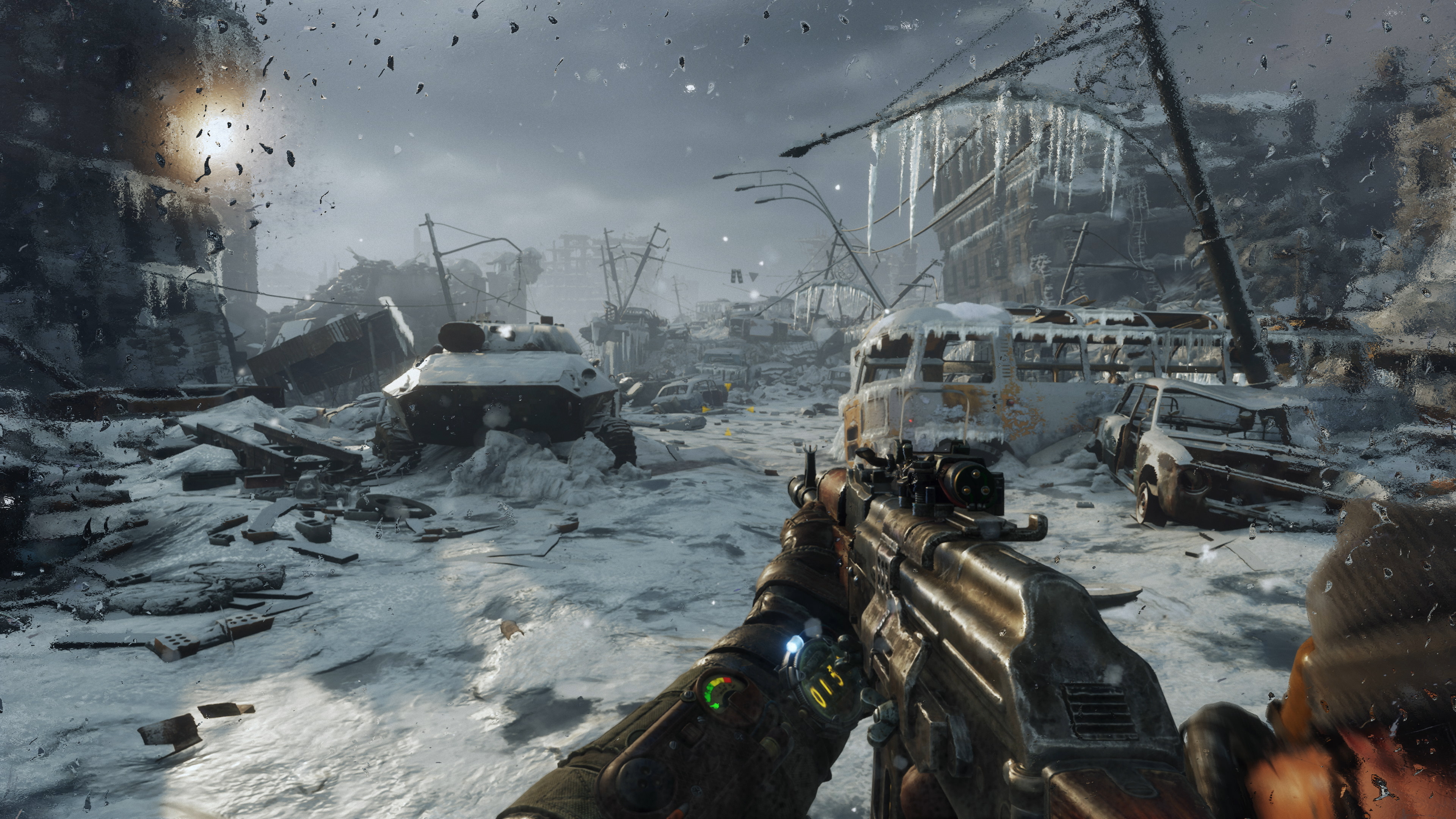 Metro Exodus A Vision For The Future Of Graphics Technology Eurogamer Net