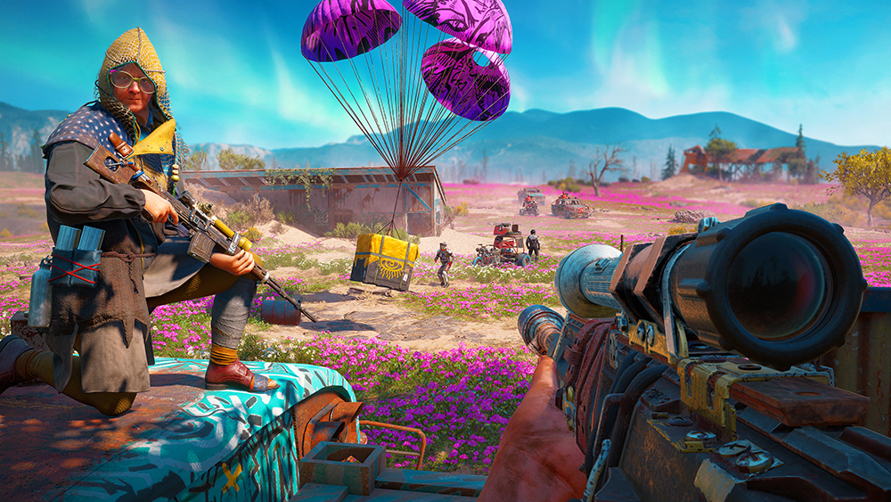 Painting A Different Apocalypse In Far Cry New Dawn Gamesindustry Biz