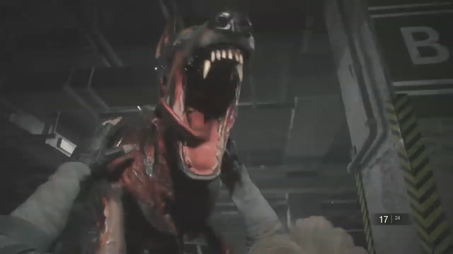 Zombie Dogs Hassle Leon in Resident Evil 2: Episode 4
