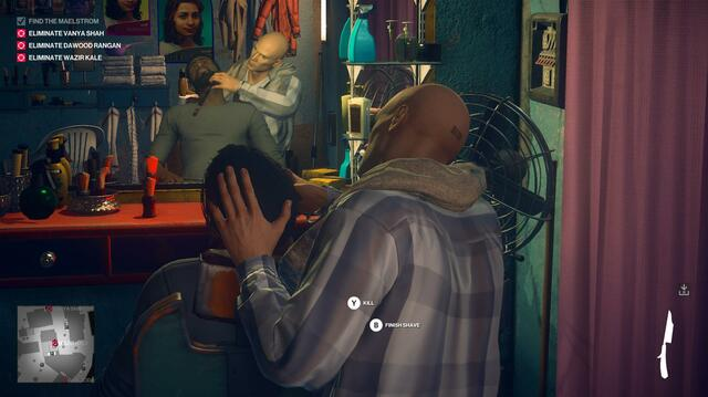 Agent 47's Mumbai Murder Tour Continues with Painting, Shaving
