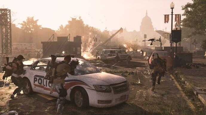 The Division 2's day one patch is 90GB for physical edition owners onPS4