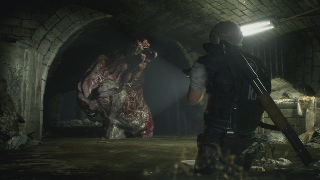 Romance Blossoms in a Sewer, Somehow, in Resident Evil 2