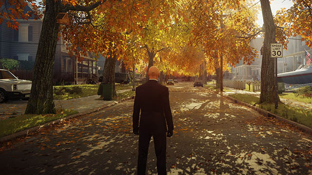 Agent 47 Goes to Suburbia in Hitman 2 Mission Another Life