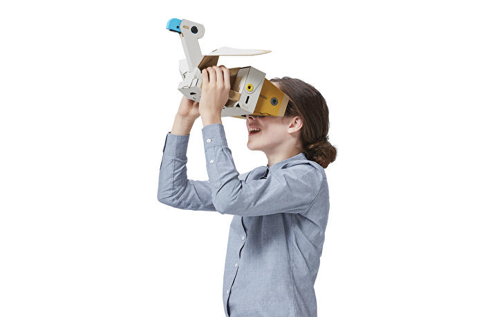 Nintendo Labo VR is VR at its simplest - but also its most